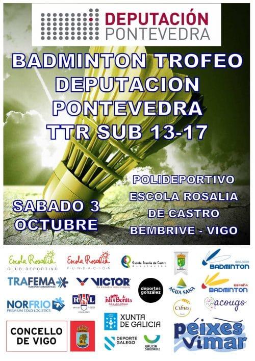 Lee más sobre el artículo Éxito en la organización del TTR 2* Sub13-Sub17 «Trofeo deputación de Pontevedra»
