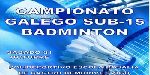 Lee más sobre el artículo Campeonato Gallego Sub 15
